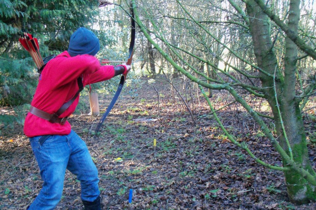 Friendly archery in South Leicestershire: A field shoot with Phoenix Archers